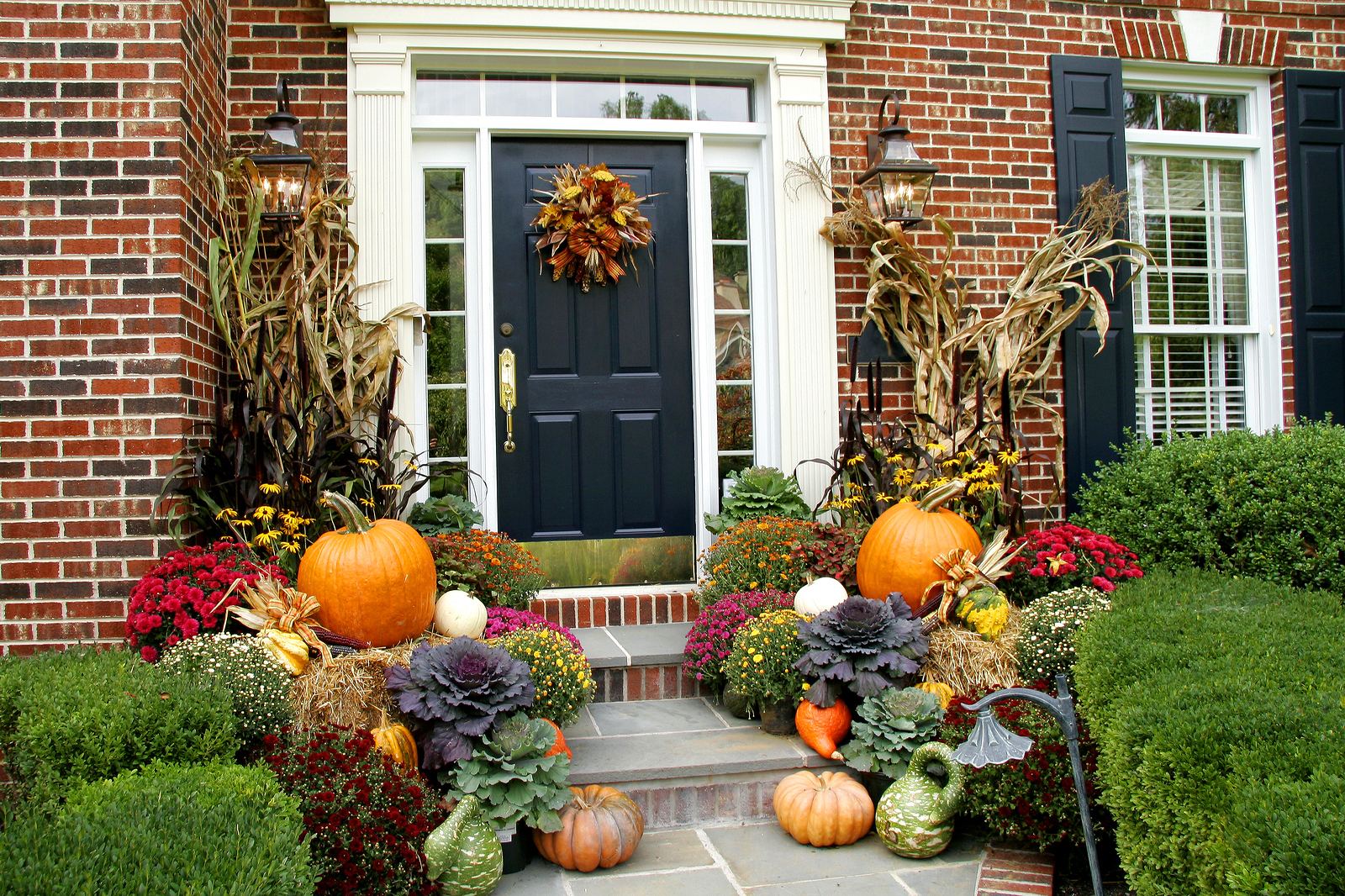 Fall Curb Appeal